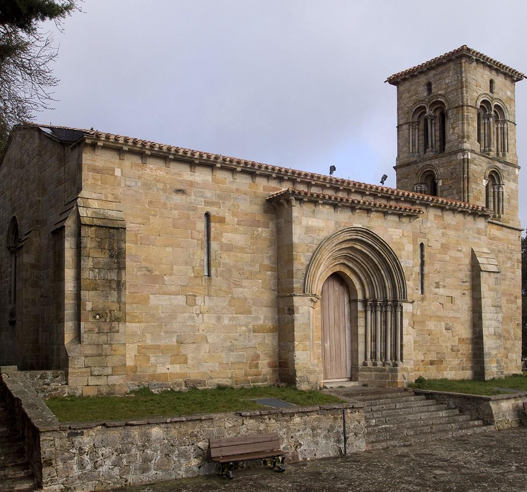 Maqueta de la ermita de Santa Cecilia de Aguilar de Campoo