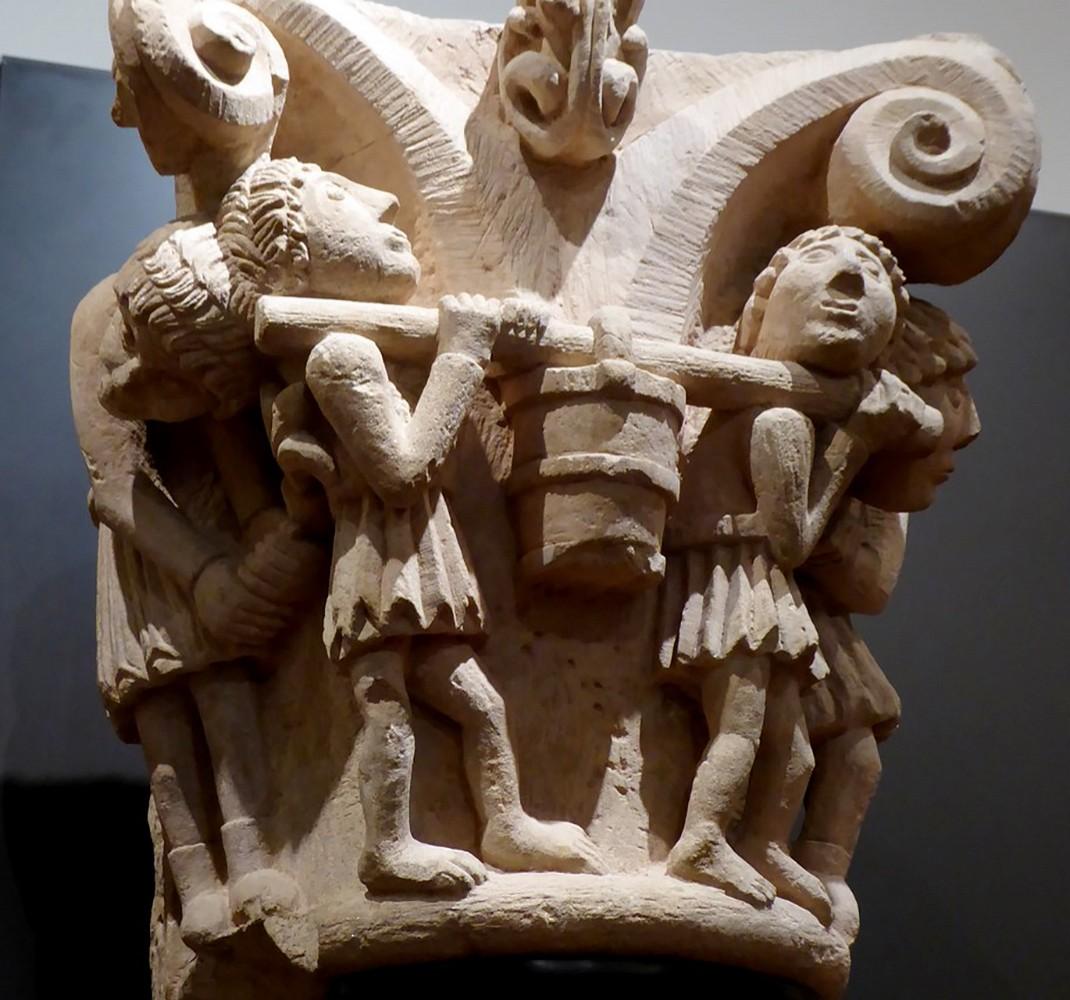 Capitel de San Pedro de Valdecal (reproducción)