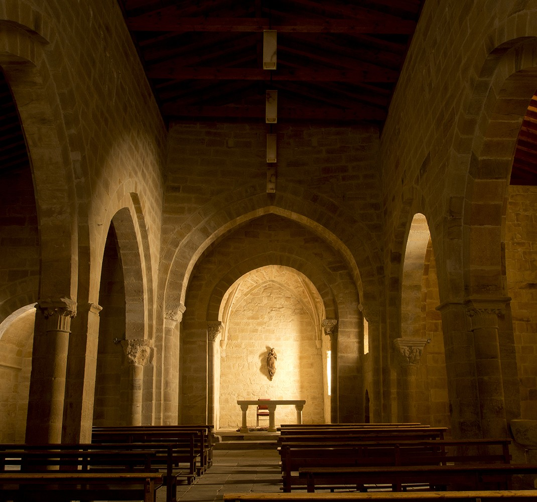 Models of Romanesque churches