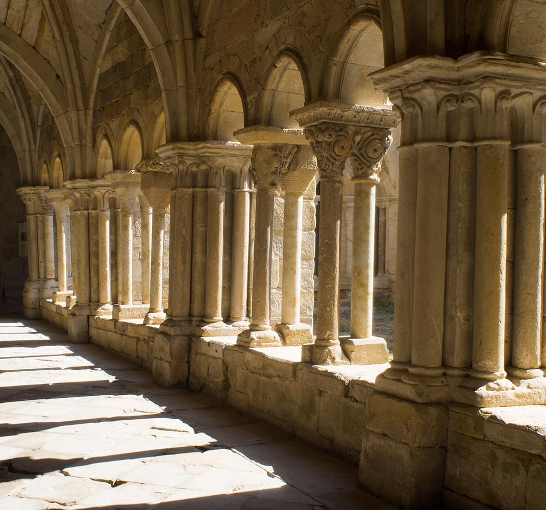 ROM Exhibition Center: Monastery of Santa María la Real de Aguilar de Campoo