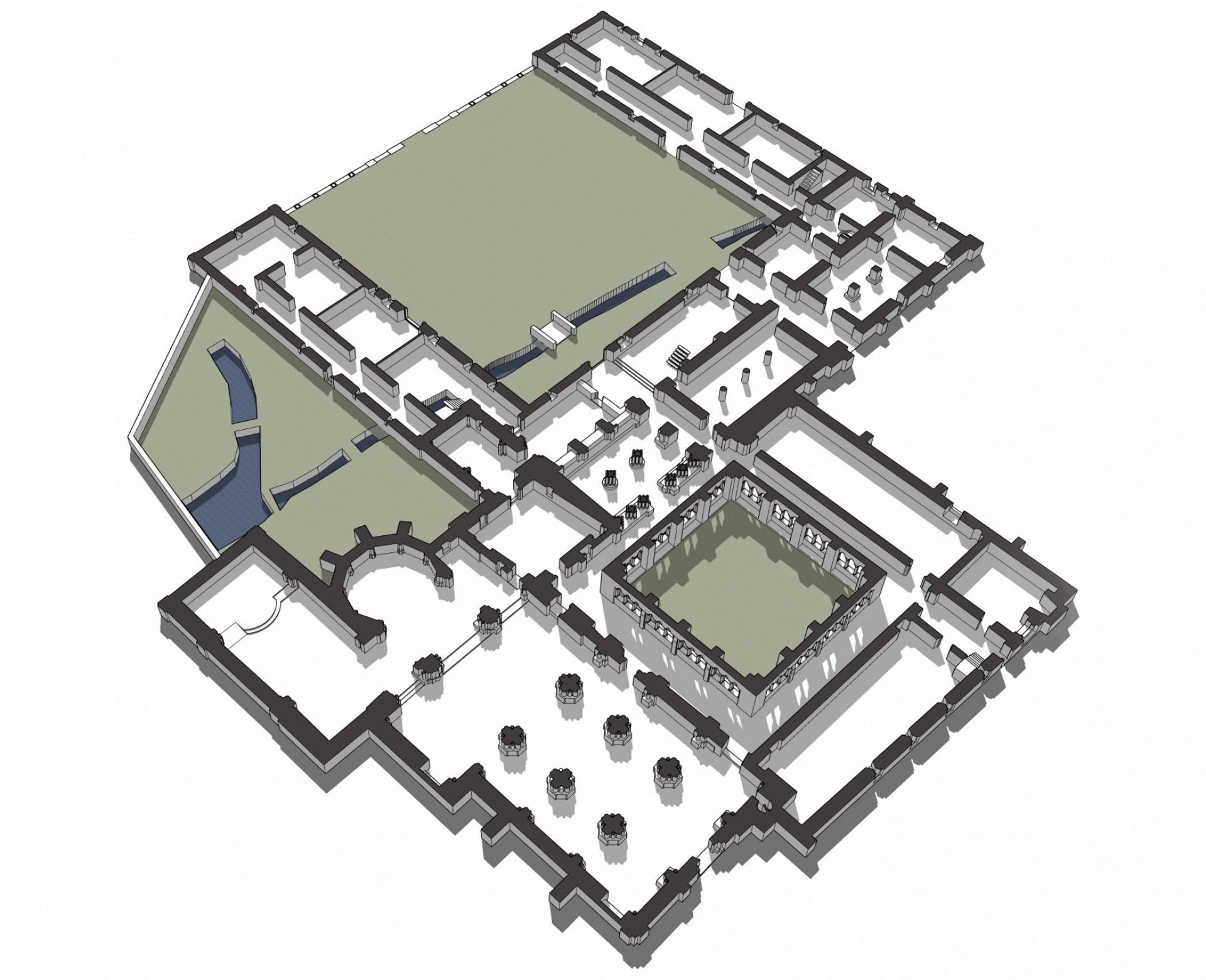 Mapa del Monasterio